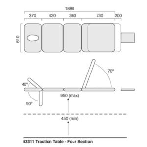 Traction Table Specs