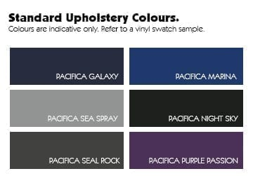 Healthtec Standard Upholstery Colours