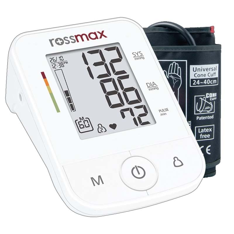 Rossmax X3 Automatic Blood Pressure Monitor With Cuff