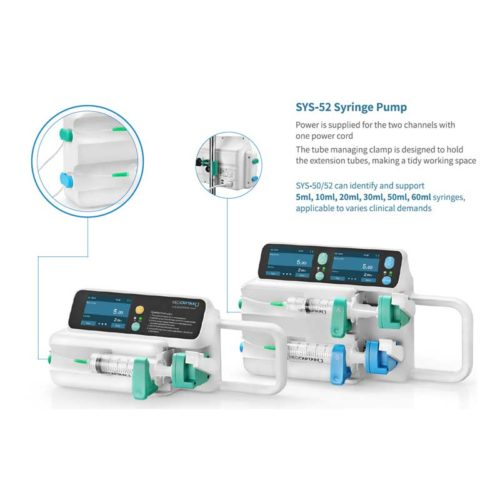 Syringe Driver Sys-50/52 By Medcaptain