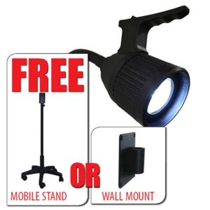 Minston Q3 Exam Light With Free Stand Or Wall