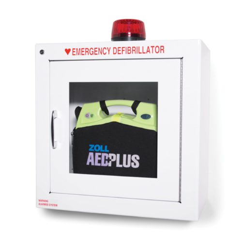 Zoll Aed Standard Metal Wall Cabinet Alarm