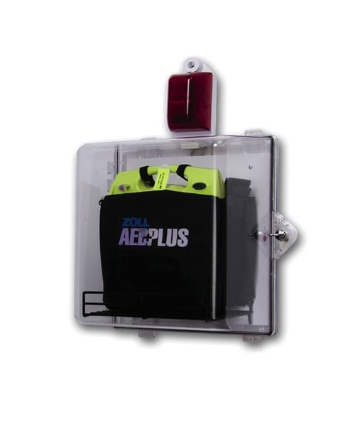 Zoll Aed Clear Alarm Wall Cabinet
