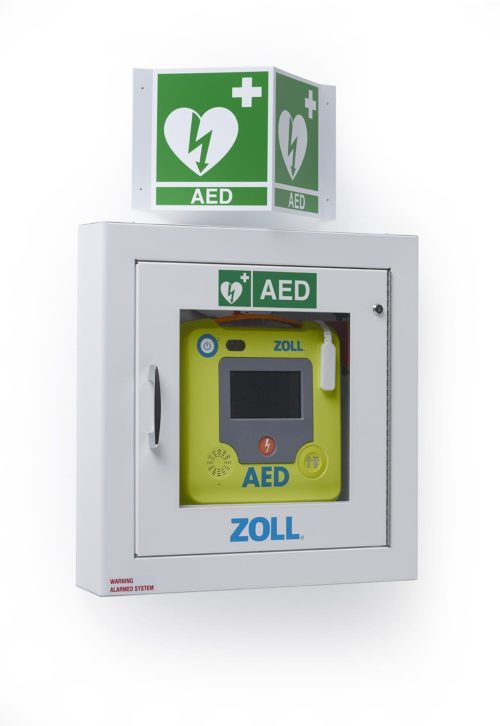 Zoll Aed Ilcor Wall Sign Irl