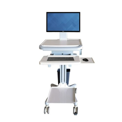 Medical-Computer-Trolley-With-Printer-Shelf2