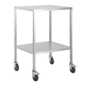 No Rail Trolleys Stainless Steel Small