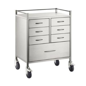 Resuscitation Trolley 7 Drawers