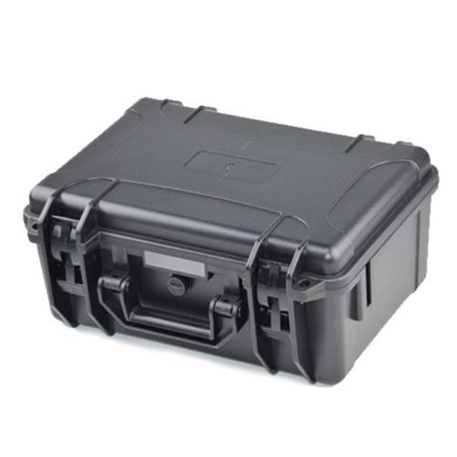 Military Grade Waterproof Black Plastic Carry Case With Foam