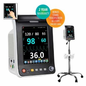 Northern Vital Signs Patient Monitor With Ecg - Aquarius Plus With Ecg And Stand