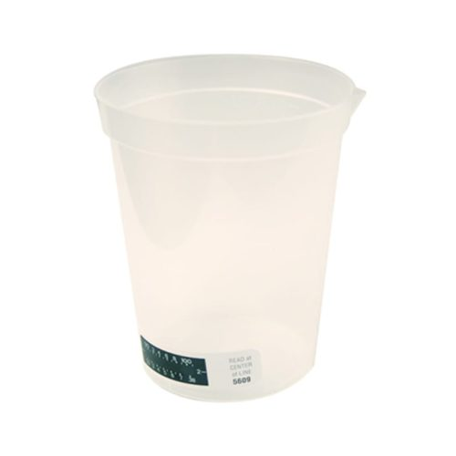 Collection Cup With Temperature Strip 180Ml