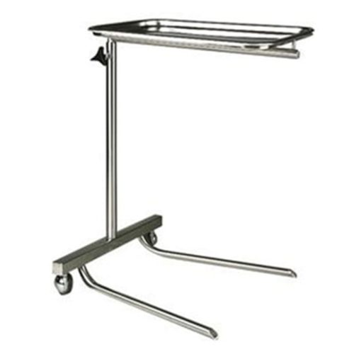 Stainless-Steel-Mayo-Instrument-Table-With-Fork-Base