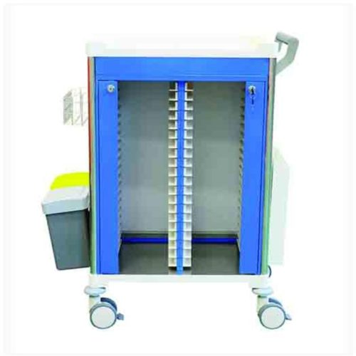 Medical Record Trolley Front No Draw