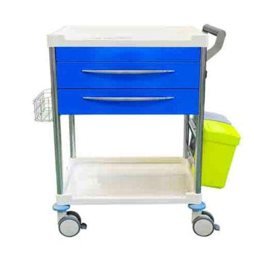 Treatment Trolley 2 Draw Front