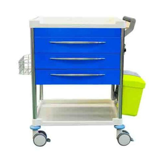 Treatment Trolley 3 Draw Front