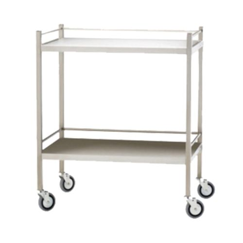 Dressing-Trolley-800X500X900-Stainless-Steel-No-Drawer