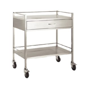 Dressing-Trolley-800x500x900-Stainless-Steel-Single-Drawer