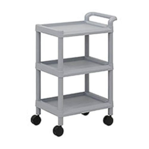 High-Density-Medical-Cart-3-Shelves