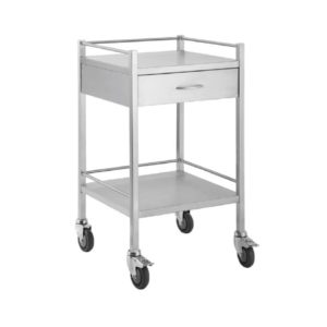 Single-Stainless-Steel-Dressing-Trolley