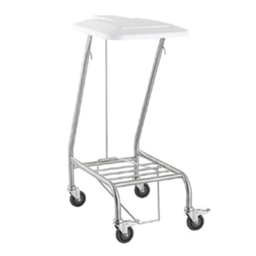 Linen-Skip-380X540X850-Stainless-Steel-Single-With--Lid