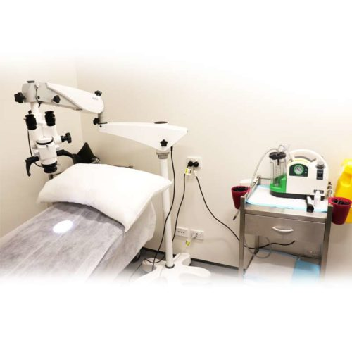 Ear Toilet Package Basic Suction And Microscope Package Set Up