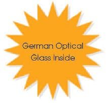 German Opical Glass Inside Of Microscope
