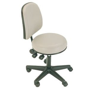 Surgeon Stool With Back Rest Dal1382