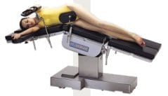 Electric Universal Operating Table - Kidney Position