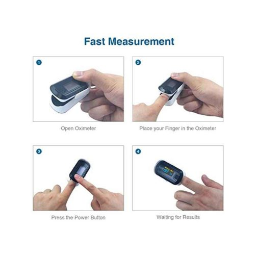 Choicemed Cn340 Adult Finger Pulse Oximeter How To Use